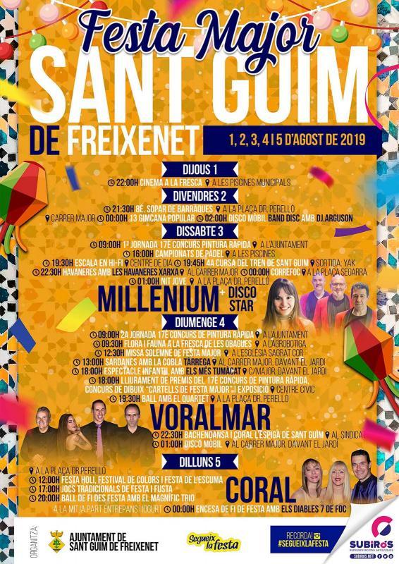 Festa major de Sant Guim de Freixenet 2019