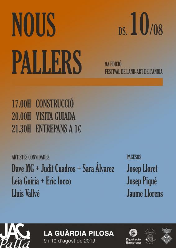 cartell nous pallers 2019 - La Guàrdia Pilosa
