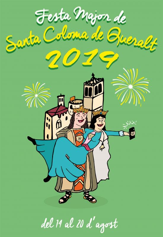 cartell Festa Major de Santa Coloma de Queralt 2019