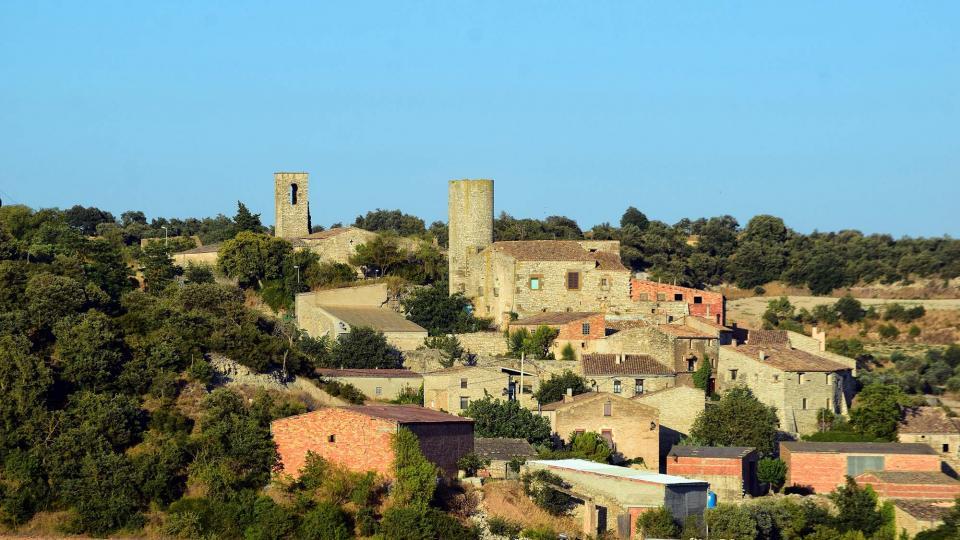 14.08.2019 Vista del poble  Gospí -  Ramon Sunyer