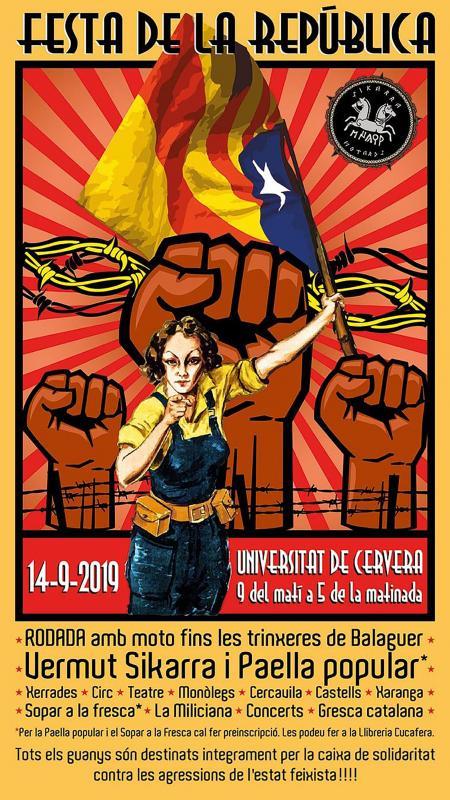 cartell Festa de la República