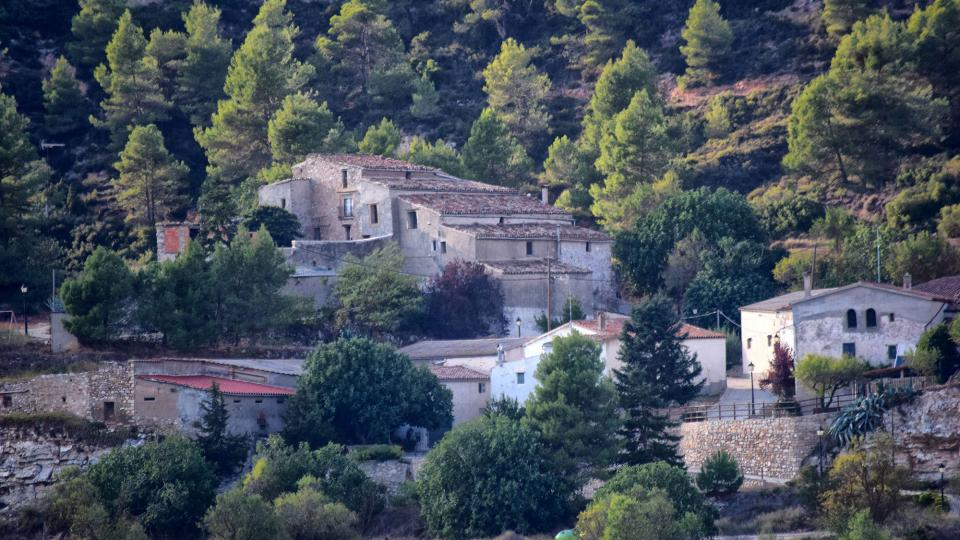 11.09.2019 vista del poble  Valldeperes -  Ramon Sunyer