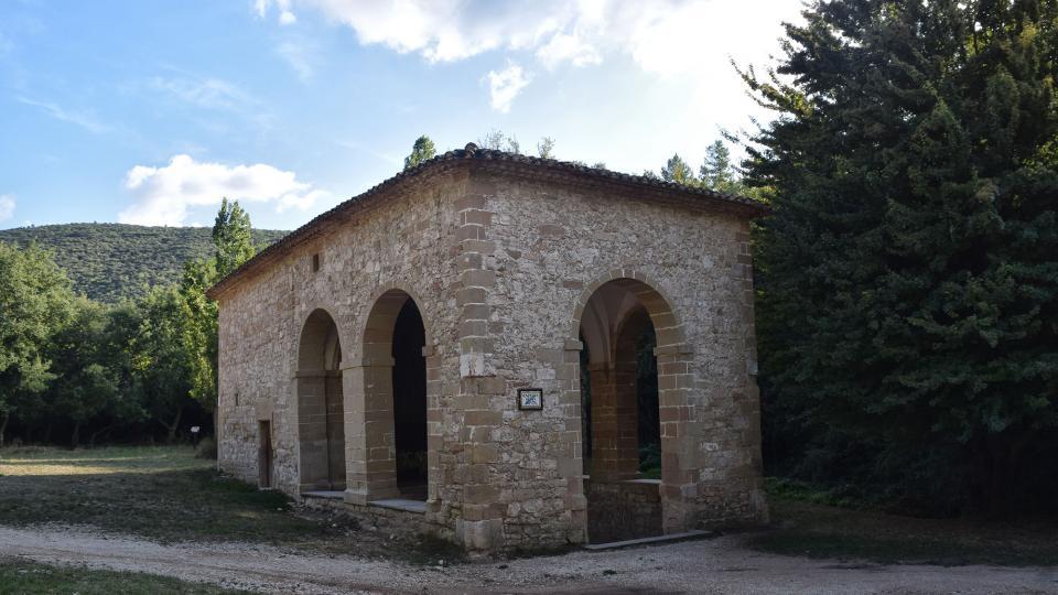 11.09.2019 capella Fonts de sant Magí  Rocamora i Sant Magí de la Brufaganya -  Ramon Sunyer