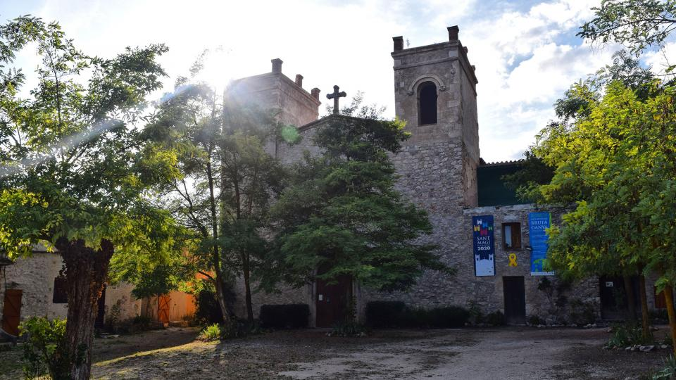 11.09.2019 Santuari de sant Magí  Rocamora i Sant Magí de la Brufaganya -  Ramon Sunyer