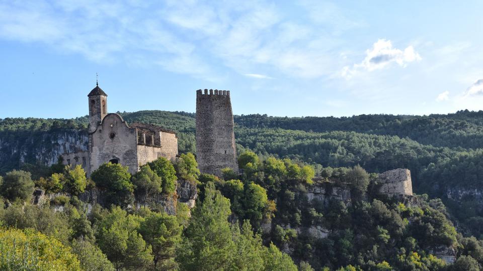 Castle of Santa Perpètua - Author Ramon Sunyer (2019)