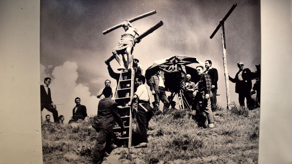 22.09.2019 Rodatge de 'Rei de Reis' de Nicholas Ray  Cervera -  Ramon Sunyer