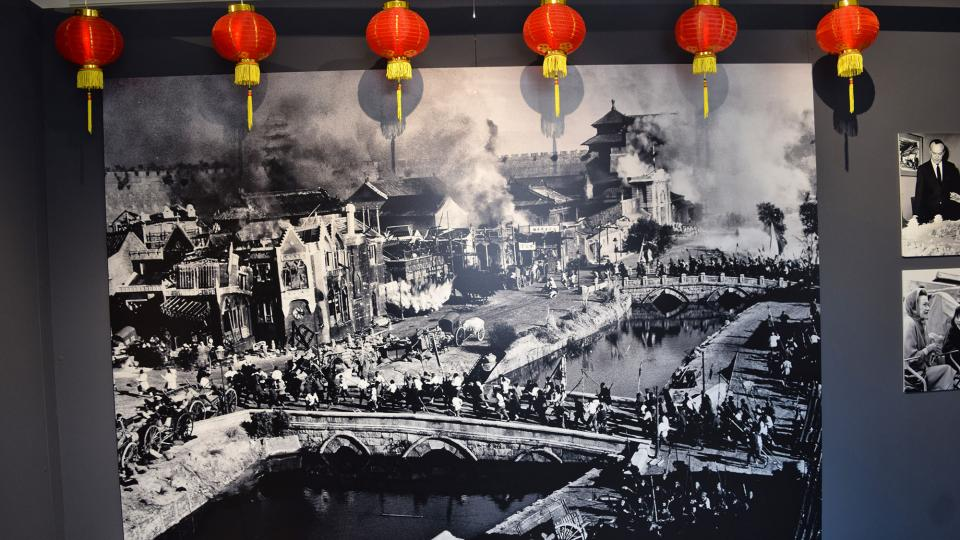 22.09.2019 Rodatge de '55 dies a Pekín' de Nicholas Ray  Cervera -  Ramon Sunyer