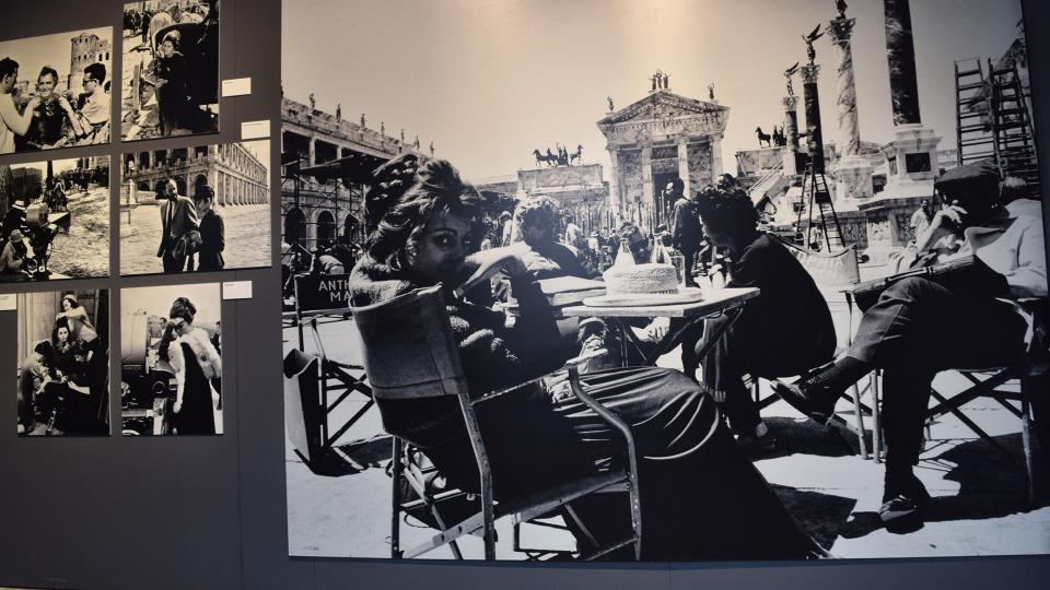 22.09.2019 Rodatge de 'La caída del imperio romano' d'Anthony Mann  Cervera -  Ramon Sunyer
