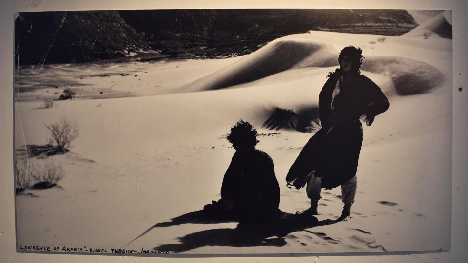 22.09.2019 Rodatge de 'Lawrence d'Aràbia ' de David Lean  Cervera -  Ramon Sunyer