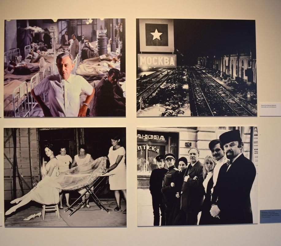 22.09.2019 Rodatge de 'Doctor Jivago ' de David Lean  Cervera -  Ramon Sunyer