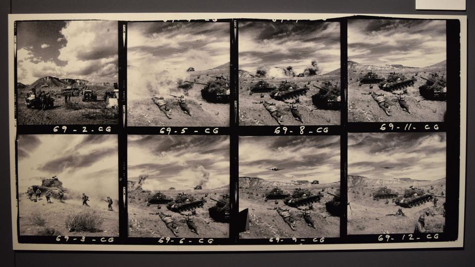 22.09.2019 Rodatge de 'Patton' de Franklin J. Schaffner  Cervera -  Ramon Sunyer