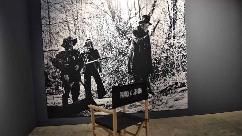 22.09.2019 Rodatge de 'L'home en una terra salvatge' de Richard C. Sarafian  Cervera -  Ramon Sunyer
