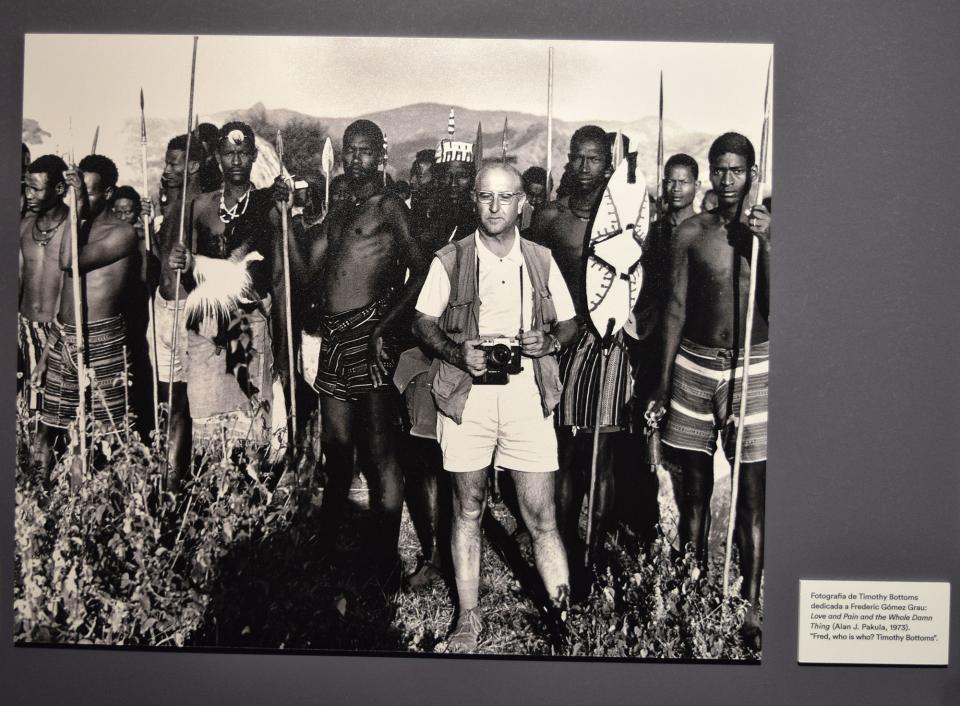 22.09.2019 Frederic Gómez en el rodatge de 'Shaft a l'Àfrica'  Cervera -  Ramon Sunyer