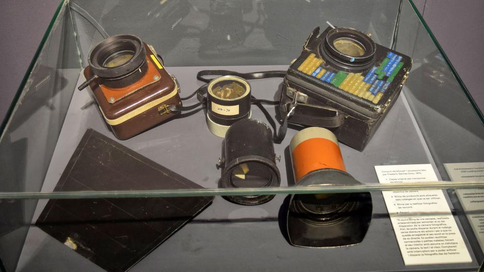 22.09.2019 Diferents 'blimps' emprats pels germans en els rodatges  Cervera -  Ramon Sunyer