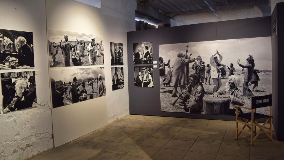 22.09.2019 Rodatge de 'Viatges amb la meva tia' de George Cukor  Cervera -  Ramon Sunyer