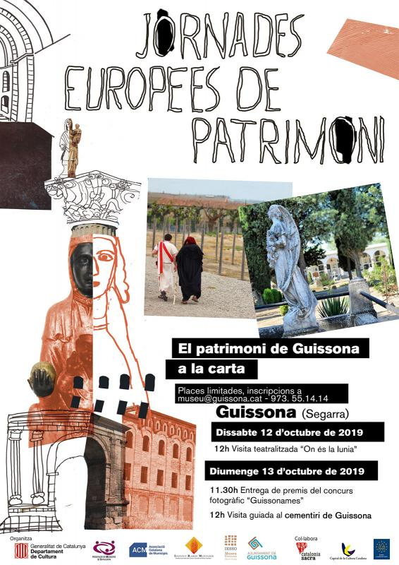 cartell JEP el patrimoni de Guissona a la carta - Guissona