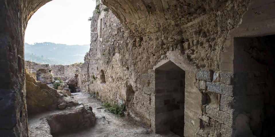 Castell de Sant Esteve Castellfollit de Riubregós -