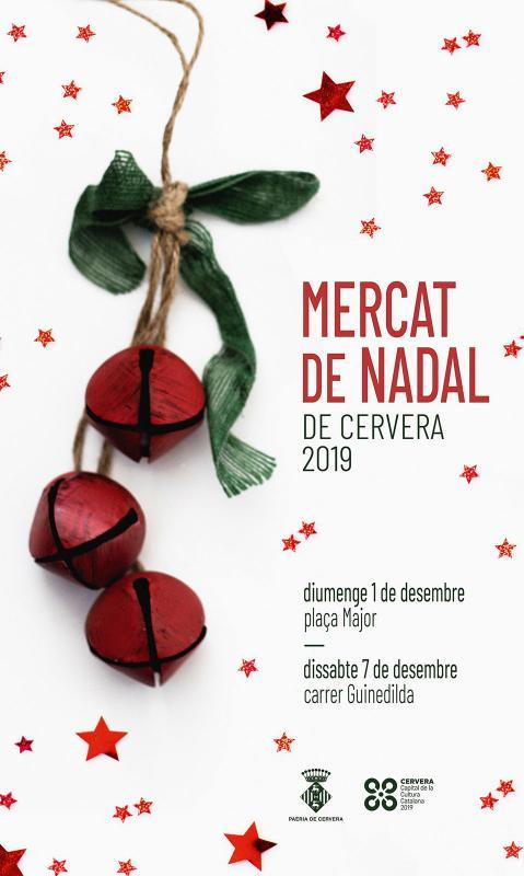 cartell Mercat de Nadal 2019 Cervera