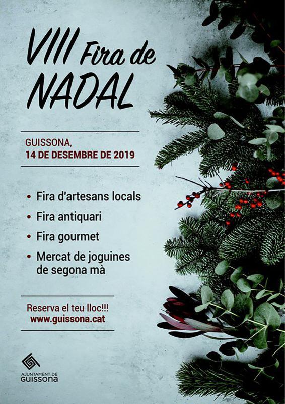 cartell Fira de Nadal 2019 - Guissona