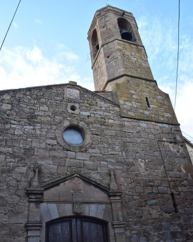 17.11.2019 Església  Les Pallargues -  Ramon Sunyer