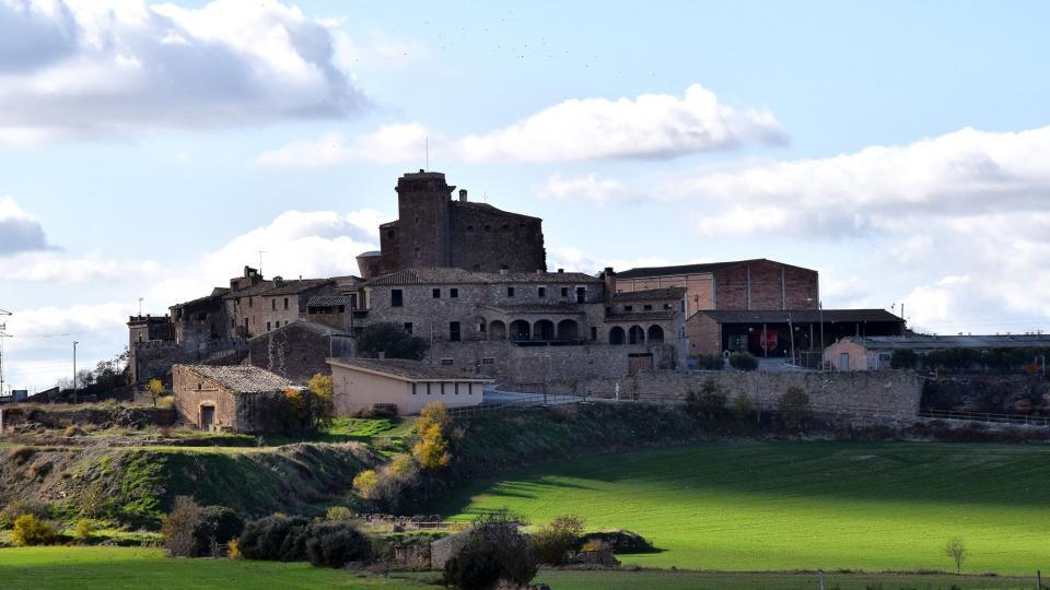 01.12.2019 Vista del poble  L'Aranyó -  Ramon Sunyer