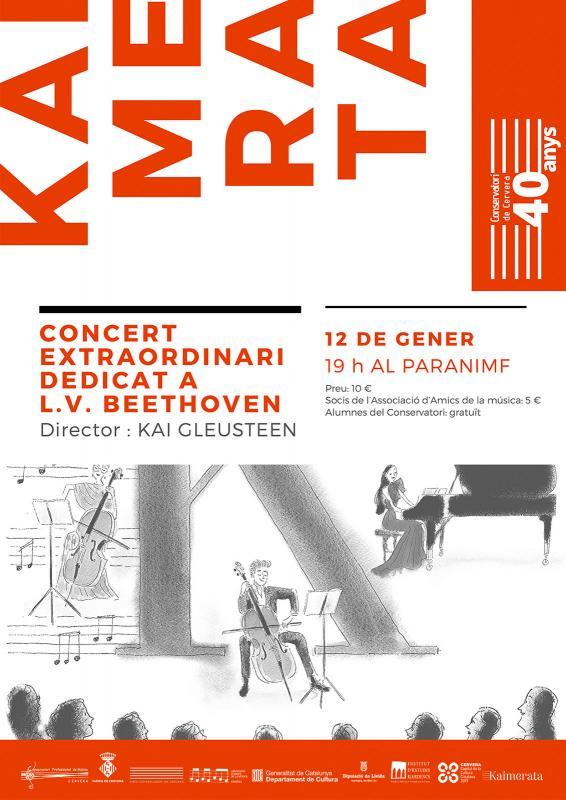 cartell 'Kaimerata', concert extraordinari dedicat a LV Beethoven