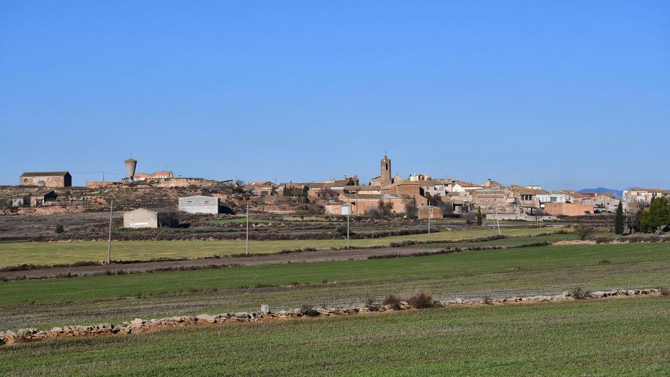 15.12.2019 Vista del poble  Mont-roig -  Ramon Sunyer