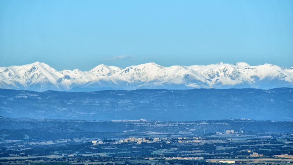 15.12.2019 Pirineu nevat  La Curullada -  Ramon Sunyer