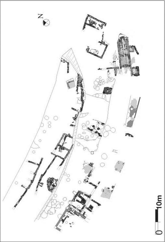 La vil·la romana de Sant Pelegrí, fase baiximperial - Biosca