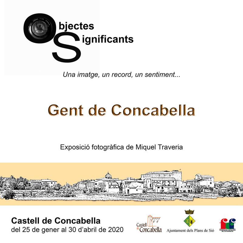 cartell Exposició 'Gent de Concabella'