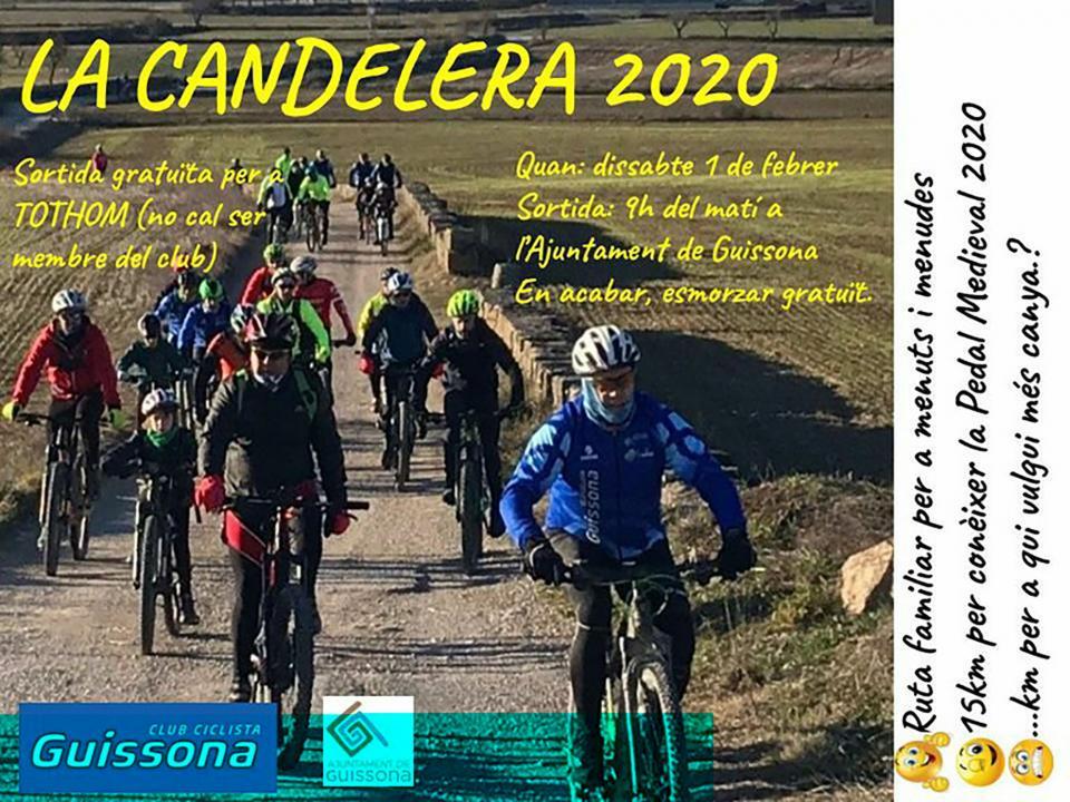 cartell Sortida BTT 'La Candelera'