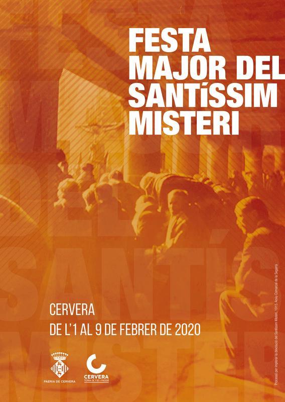 cartell Festa Major del Santíssim Misteri 2020