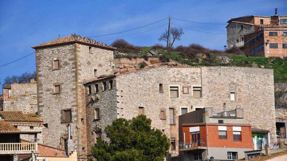 09.02.2020 Castell de l'Oluja Baixa  Les Oluges -  Ramon Sunyer
