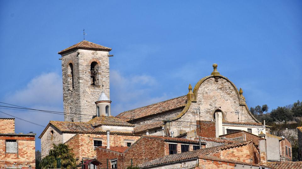 09.02.2020 Església de Santa Maria  Les Oluges -  Ramon Sunyer