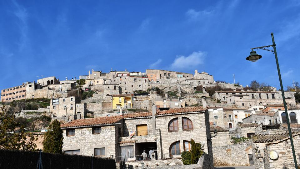 09.02.2020 Vista del poble  Les Oluges -  Ramon Sunyer