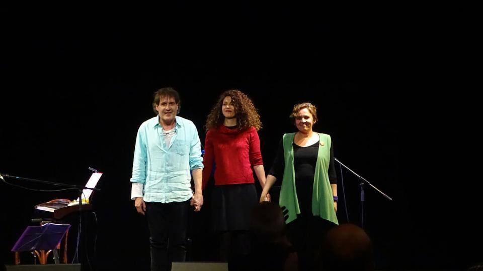 4ª edició del Festival MEB al Casino de Calaf, Carles Beltran, Lali Barenys i Namina - Calaf
