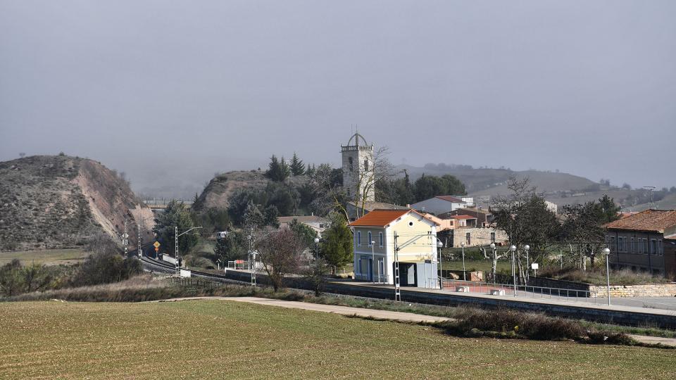 04.01.2020 Vista general  Sant Martí Sesgueioles -  Ramon Sunyer