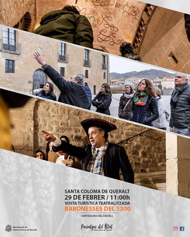 cartell Visita teatralitzada 'Baronesses del 1300'