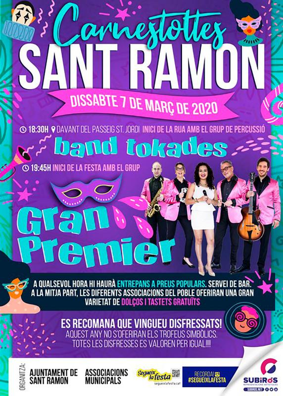 cartell Carnaval Sant Ramon 2020