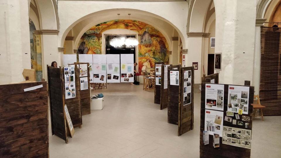 Exposició en motiu dels 40 anys de l'Associació del Patrimoni Artístic i Cultural de Torà Foto: ramon sunyer - Torà