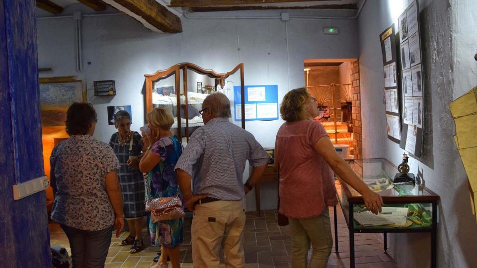 Exposició a Cal Gegó Foto: ramon sunyer - Torà