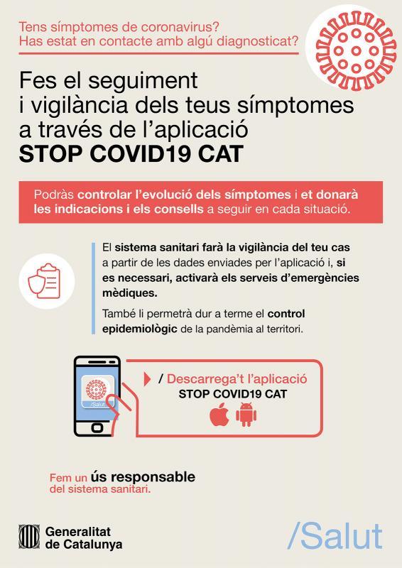 App StopCovid19Cat -