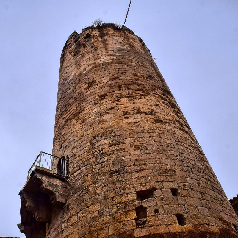 Castle of Verdú - Author Ramon Sunyer (2019)