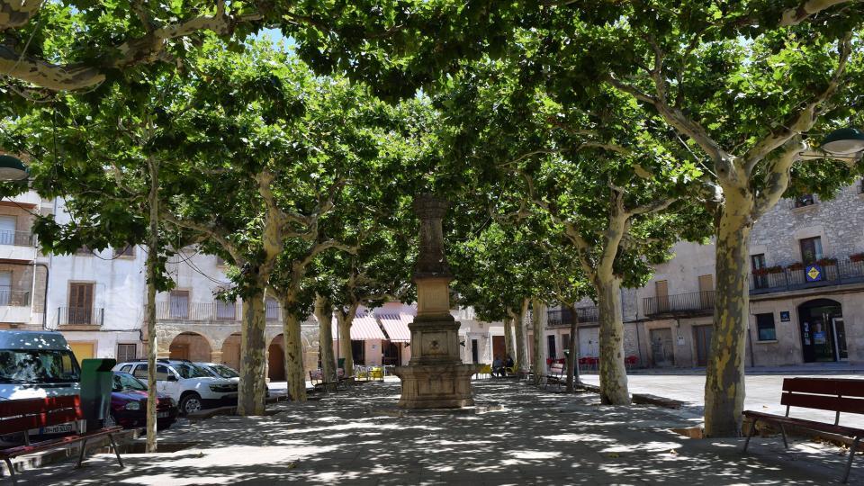 16.07.2017 Plaça Major  Verdú -  Ramon Sunyer