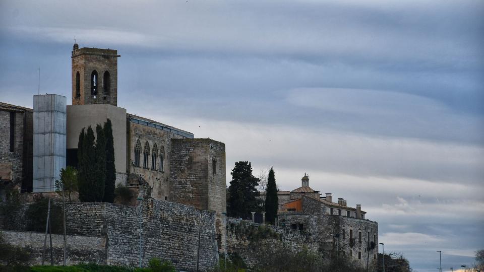 07.03.2020 Detall de la muralla  Verdú -  Ramon Sunyer