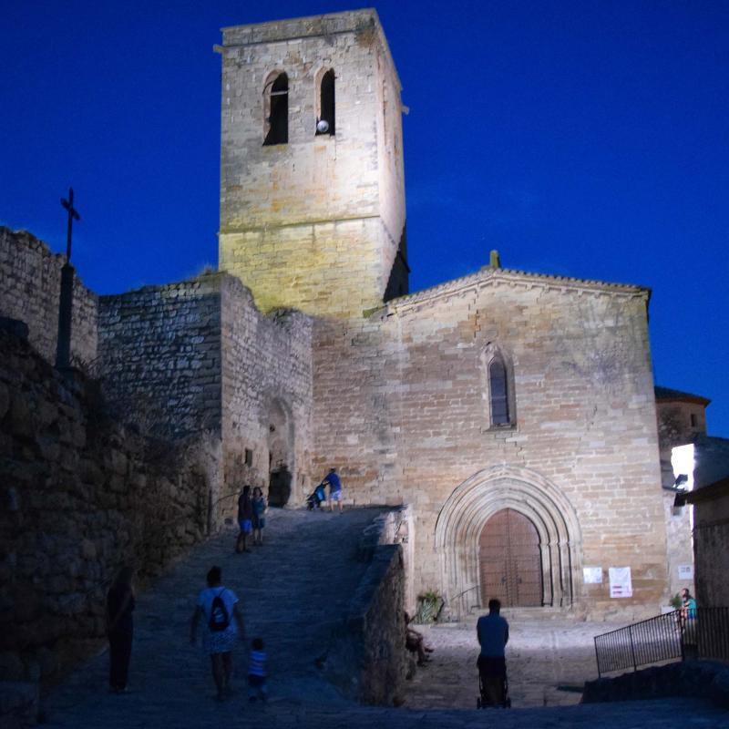 10.08.2019 Església de Santa Maria  Guimerà -  Ramon Sunyer