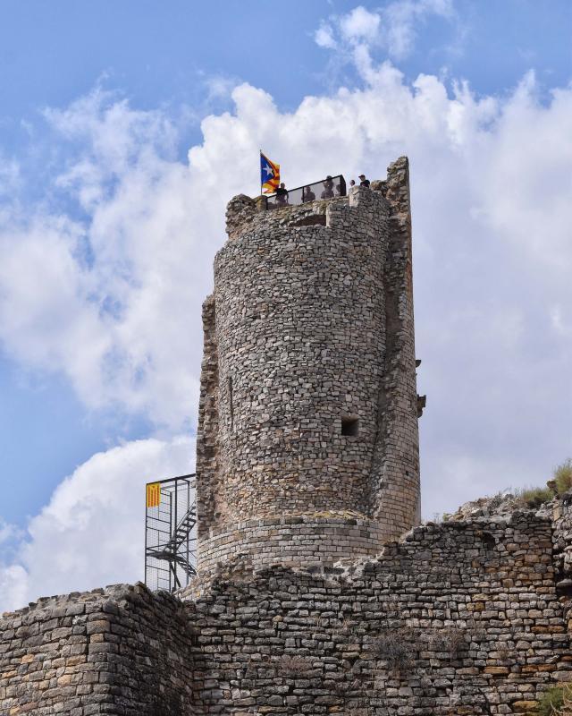 11.08.2018 Torre medieval  Guimerà -  Ramon Sunyer