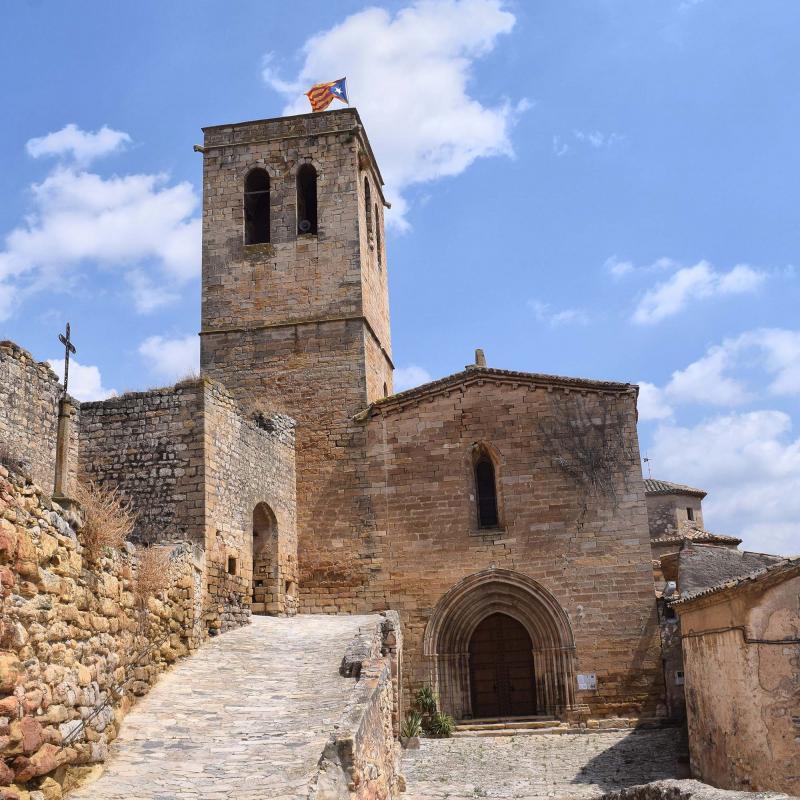 11.08.2018 Església de Santa Maria  Guimerà -  Ramon Sunyer