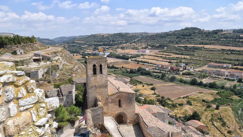 11.08.2018 Vista del poble des de la torre  Guimerà -  Ramon Sunyer