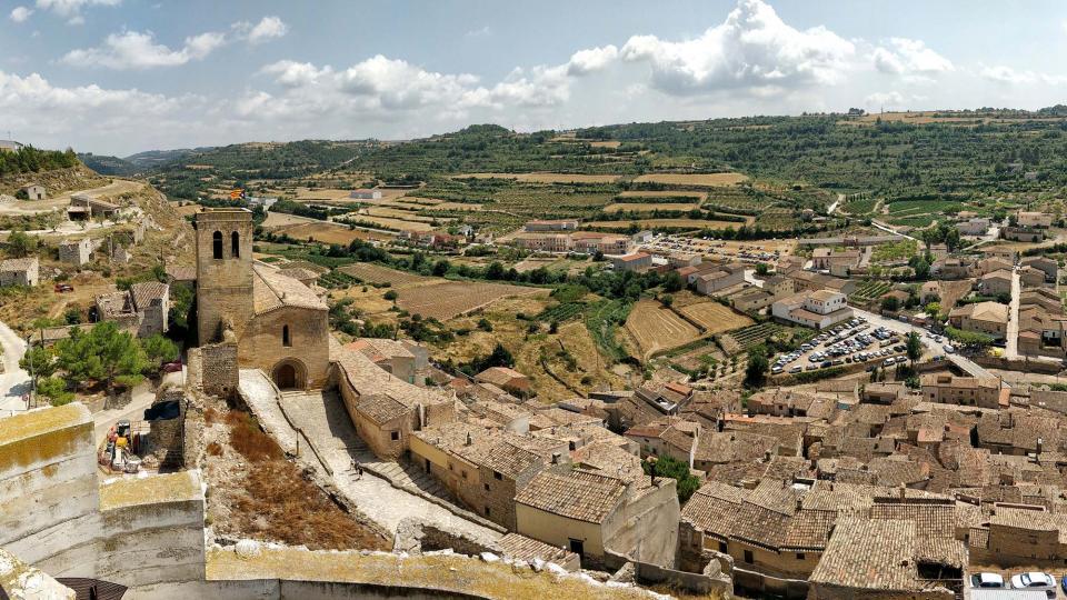 11.08.2018 Vista des de la torre  Guimerà -  Ramon Sunyer